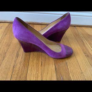 Kate Spade Purple Wedges